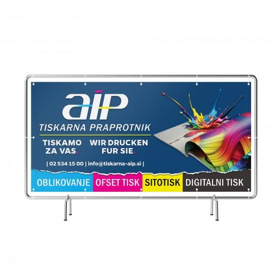 Transparent - PVC - Frontlit 530 g/m2